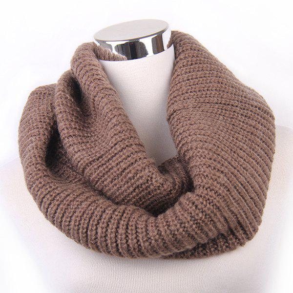 Loose Knitted Infinity Scarf rosicil consumer cap knitted scarf