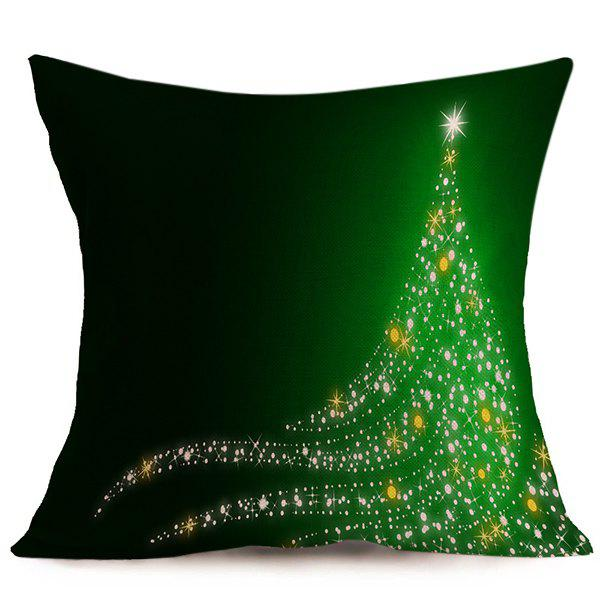 Merry Christmas Sofa Cushion Throw Pillow Cover christmas sock linen cushion throw pillow cover