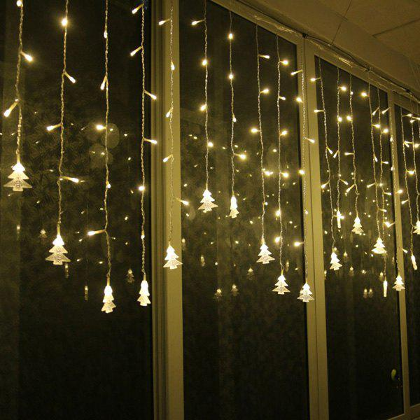 Christmas Tree Pendant LED String Light Indoor Room Decoration - WARM WHITE LIGHT
