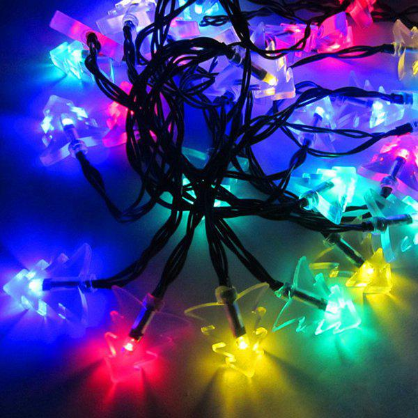 4.8M Christmas Tree Solar Power LED String Light Party Decoration - COLORFUL
