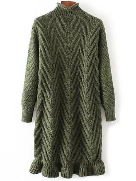 Chunky Pull Pull Long - Vert ONE SIZE