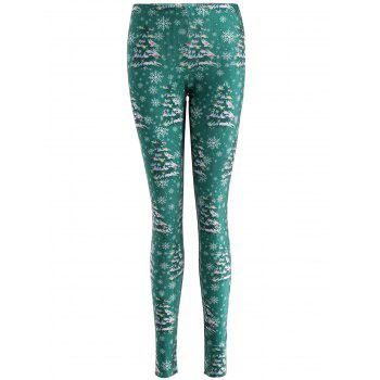Christmas Tree Skinny Leggings