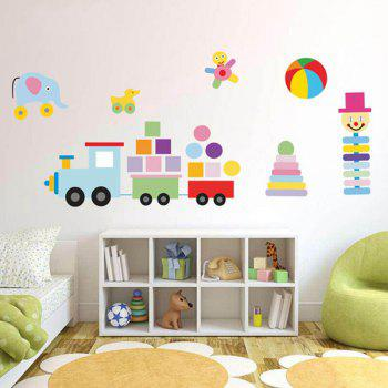 Removeable Colorful Toys Wall Sticker
