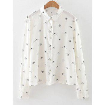 Bee Printed Long Sleeve Shirt