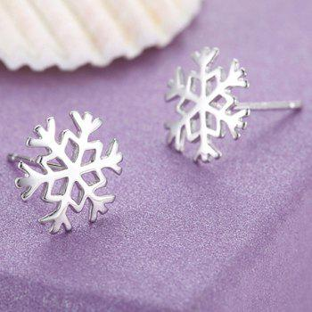 Snowflake Christmas Earrings