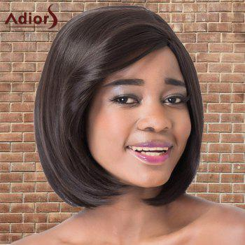 Adiors Short Straight Side Parting Bob Synthetic Wig