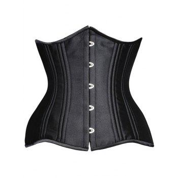 Steel Boned Underbust Lace-Up Corset