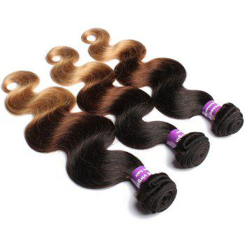 1 Pcs Body Wave 6A Virgin Brazilian Multi Color Hair Weave
