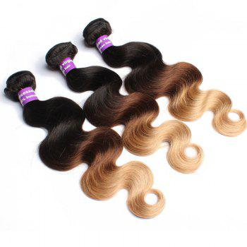 1 Pcs Body Wave 6A Virgin Brazilian Multi Color Hair Weave - COLORMIX COLORMIX