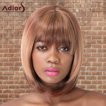 Adiors Short Straight Bob Colormix Neat Bang Synthetic Wig