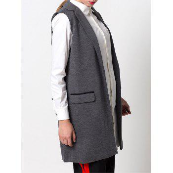 One-Button Fitting Waistcoat - S S