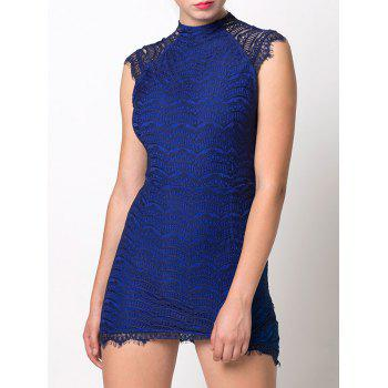 Asymmetric Lace Bodycon Dress