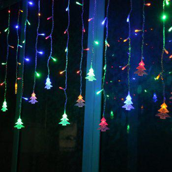 LED Christmas Tree Pendant String Light Party Decoration -  multicolorCOLOR