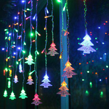 LED Christmas Tree Pendant String Light Party Decoration - MULTICOLOR multicolorCOLOR