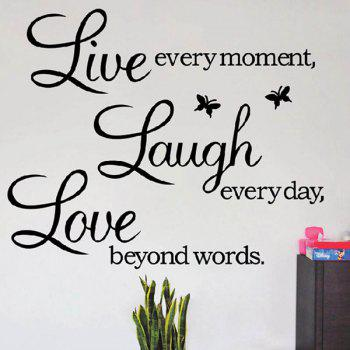 Removeable Art Life Wall Sticker