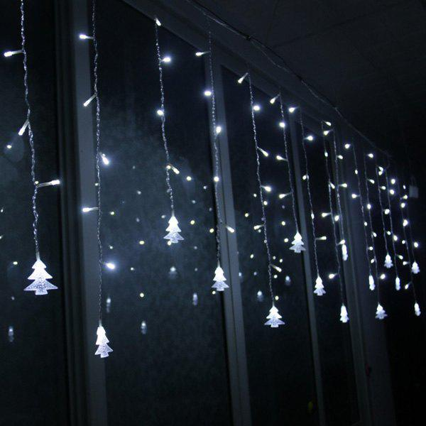 LED Christmas Tree Pendant String Light Party Decoration - WHITE