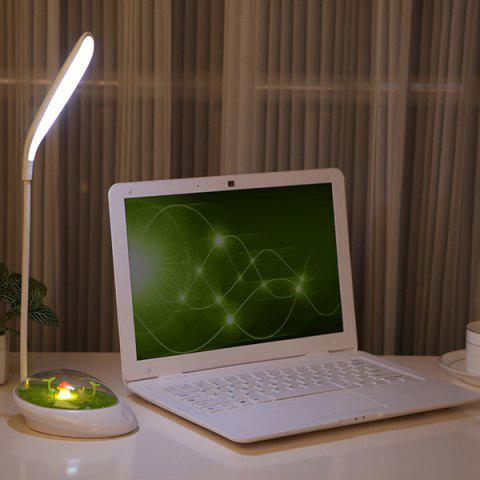 USB Charge réglable Protection des yeux Portable Micro Paysage LED Night Light - Jaune