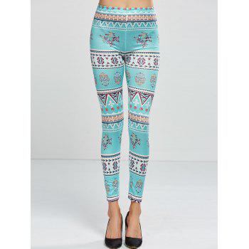 Stretchy Printed Leggings