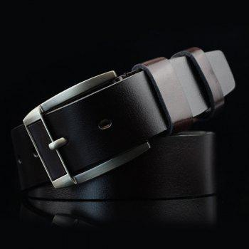 Retro Pin Buckle PU Belt
