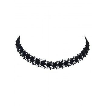 Love Heart Hollow Out Lace Choker