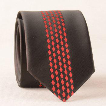 Retro Little Rhombus Pattern Neck Tie