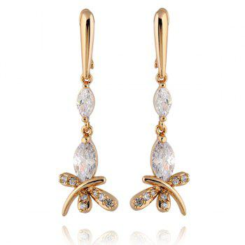 Zircon Stylish Butterfly Earrings