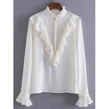 Ruffle Long Sleeves Blouse