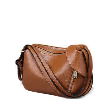 Textured Faux Leather Convertible Shoulder Bag
