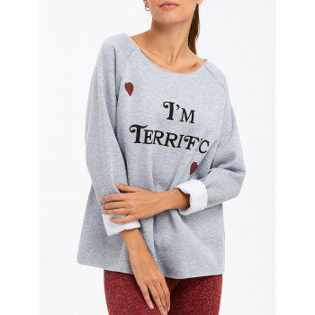 Buy am Terrific Sweatshirt GRAY