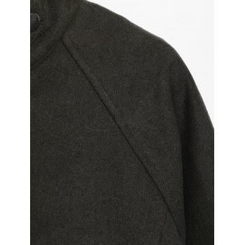 Stand Collar String  Jacket - ONE SIZE ONE SIZE