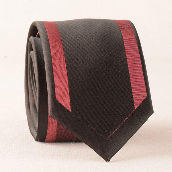 Bridegroom Fomal Polyester Neck Tie - RED