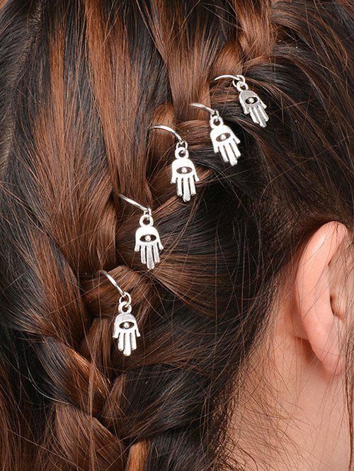 5 PCS Devil Eye Hand Hair Accessory