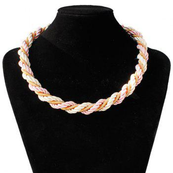 Braid Rope Necklace