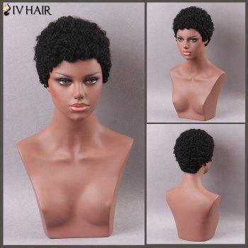 Siv Hair Curly Short Human Hair Wig