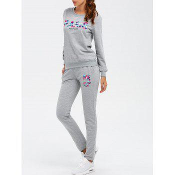 Paris Sweatshirt With Track Leggings