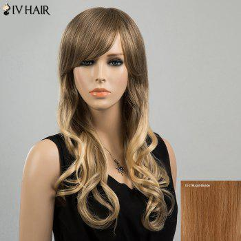 Siv Hair Long Side Bang Gorgeous Wavy Human Hair Wig