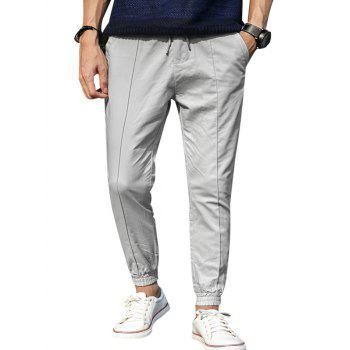 Loose Pocket Drawstring Jogger Pants