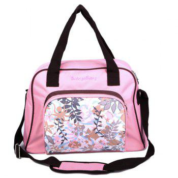 Nylon Printed Diaper Tote Bag