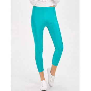 Candy Color Shiny Leggings