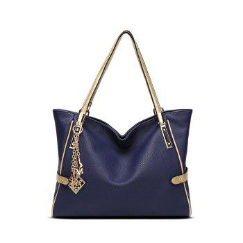 Pendant Chains PU Leather Shoulder Bag