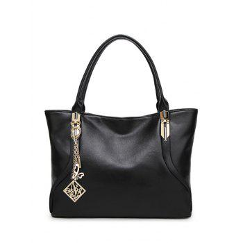 Chains Metal Pendant Shoulder Bag