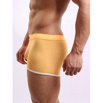 One Side Cutting U Convex Pouch Comfortable Boxer Brief