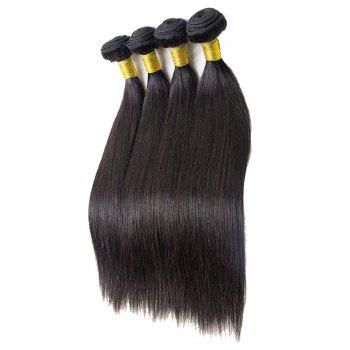 1 Pcs 7A Virgin Straight Brazilian Hair Weave - 20INCH 20INCH