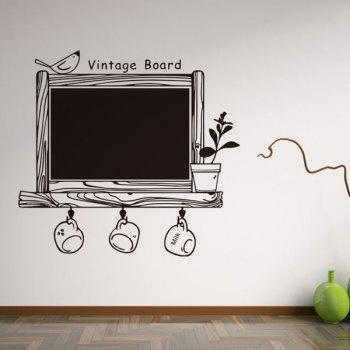 Vintage Writing Board Wall Stickers   BLACK ... Part 54