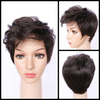 Spiffy Curly Ultrashort Synthetic Wig