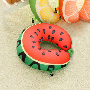 Soft Memory Foam Neck Cushion Watermelon U Shape Pillow