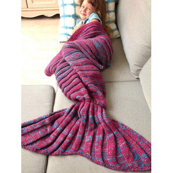 Good Quality Warm Kintted Wrap Mermaid Tail Blanket For Kids - S S