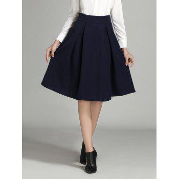blue skirts cheap for fashion sale
