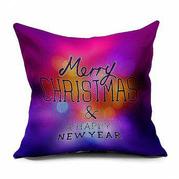 Happy New Year Pattern Home Throw Pillow Case