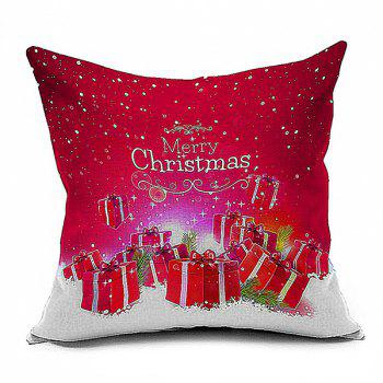 Merry Christmas Gifts Pattern Home Throw Pillow Case